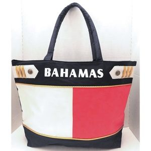 Vintage 90's Bahamas Tote / Travel Bag
